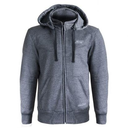 Picture of S-line Hoodie With Elbow, Shoulder, Upper Back Protectors And  Aramid Reinforcements - Large - Grey
