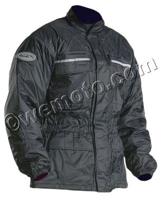 Picture of Spada Jacket Textile 944 Black - Thermal Lined Medium   Wet Weather Protection