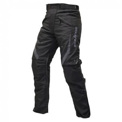 Picture of S-Line Touring Trousers Waterproof  With Hip And Knee Protectors - Black - Large