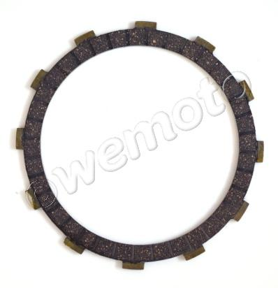 Picture of Clutch Plate 1045 (3.85mm)  Inner Diameter 129 Outer Diameter 151  12 peg x 14mm