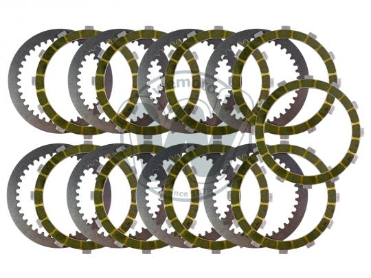 Picture of Clutch Friction And Steel Plates Kit - Barnett Racing - Ducati Monster 600 620 750 800