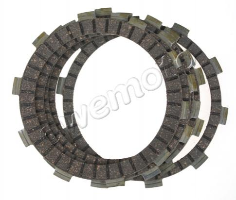 Picture of Honda XL 125 V Varadero (German Market) 07-08 Clutch Friction Plate Set - EBC