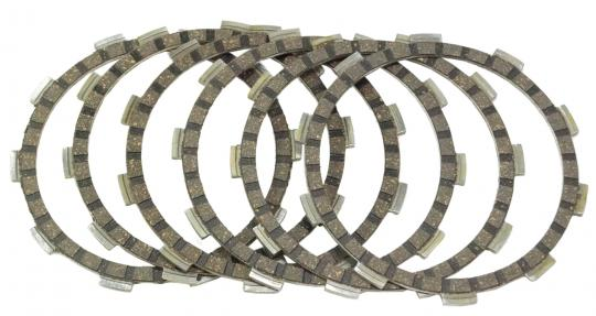 Picture of Yamaha DT 125 LC1 Type 26G 83 Clutch Friction Plate Set - EBC