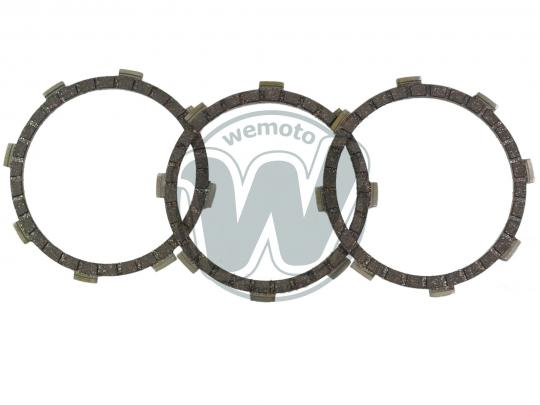 Picture of Yamaha TY 50/50 M (French Market) 77-78 Clutch Friction Plate Set - EBC
