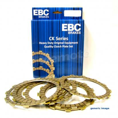 Picture of Kawasaki KX 65 AAF 10 Clutch Friction Plate Set - EBC