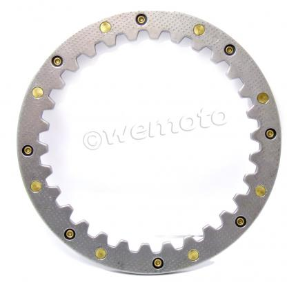Picture of Clutch Steel Plate - O.D. 150.9mm ID 125.9mm Thickness 5.00mm  30Pegs