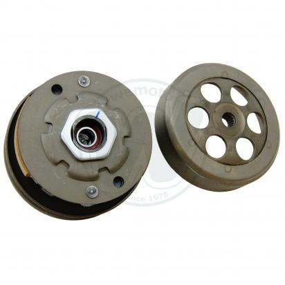 Picture of Centrifugal Clutch And Pulley Assembly Yamaha Ce50 Jog