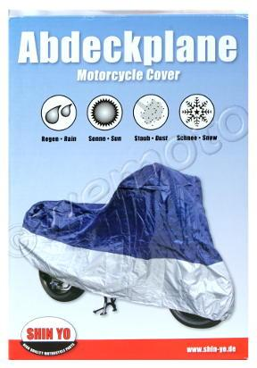 Picture of Motorcycle Cover - Motorcycle Polyester Medium 80