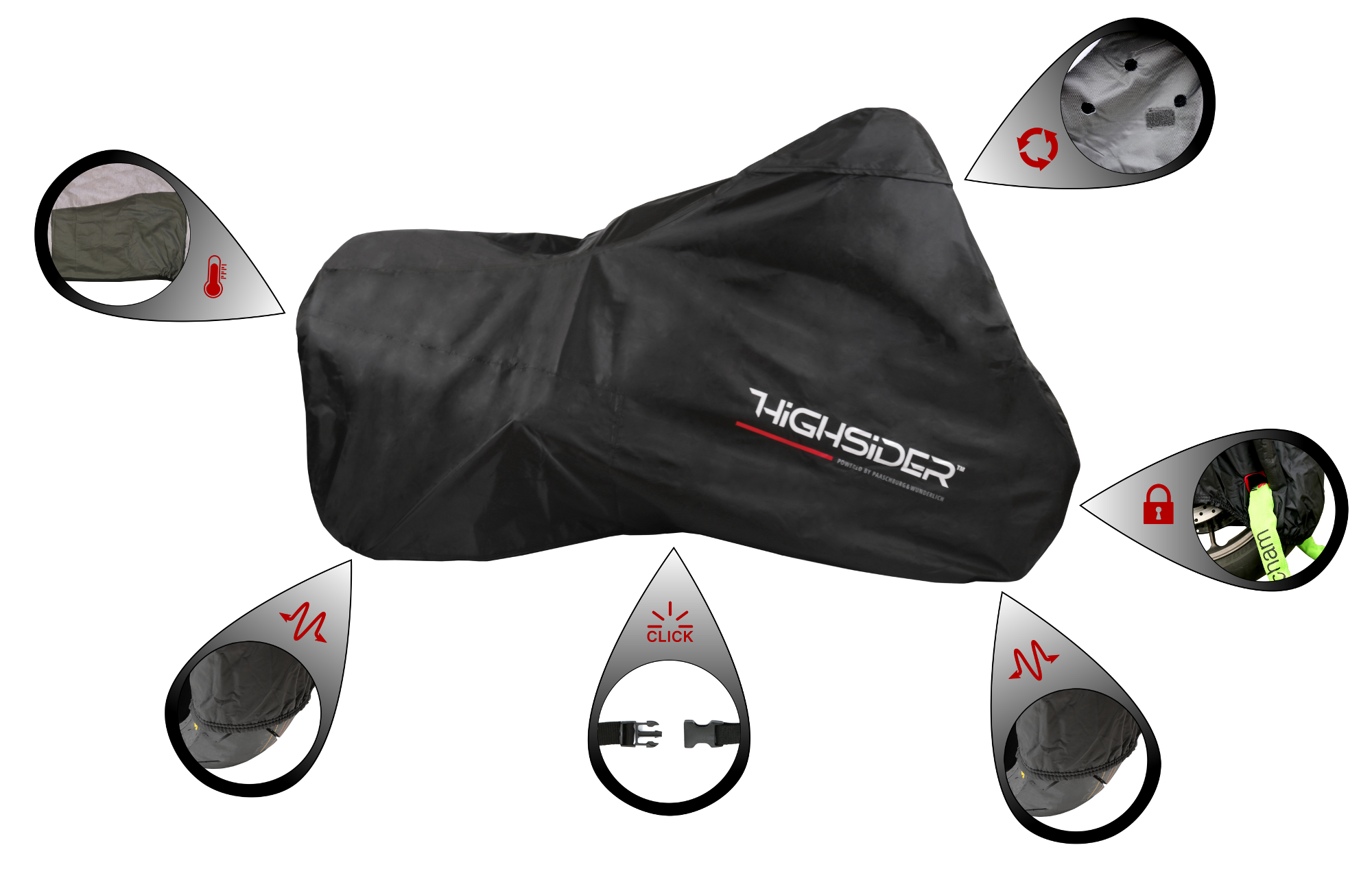 Highsider High Quality Motorcycle Cover