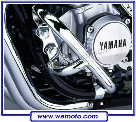 Picture of Yamaha XJR 1200 95-97 Engine Bars - Chrome - Pair