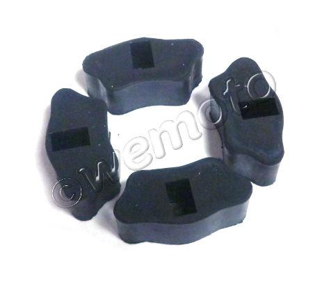 Picture of Cush Drive Rubber Set - As Honda - Chaly