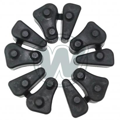 Picture of Cush Drive Rubber Set 5 Rubbers as Honda 06410-MEJ-670