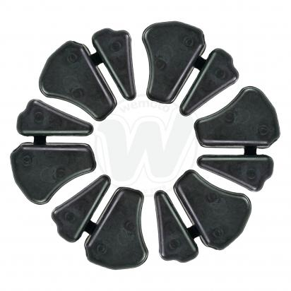 Picture of Cush Drive Rubber Set - as Yamaha 1WD-F5364-00   set of six units