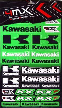Picture of Sticker Kit - Kawasaki ( 1 SHEET )