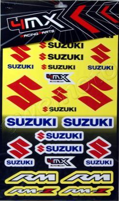 Picture of Sticker Kit - Suzuki ( 1 SHEET )