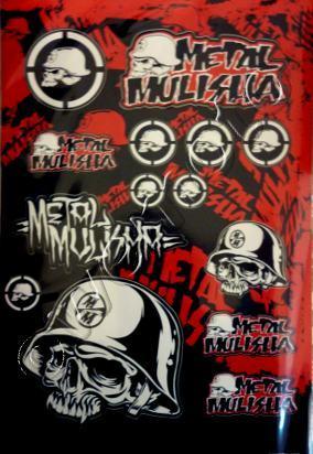 Picture of Sticker Kit - Metal Mulisha - ( 1 SHEET )