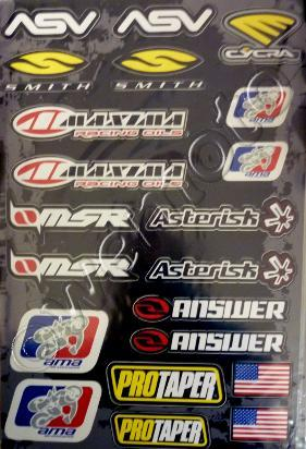 Picture of Sticker Kit - AMA SPECIAL - ( 1 SHEET )