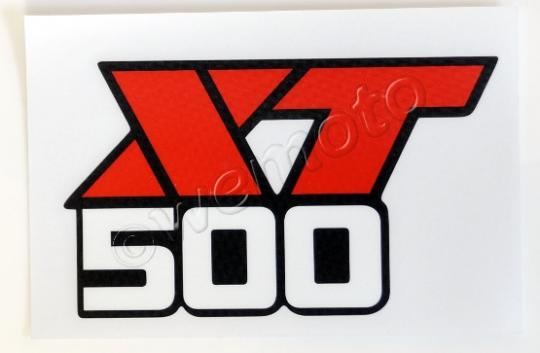 Picture of Decal Tank Yamaha XT500 1986-88