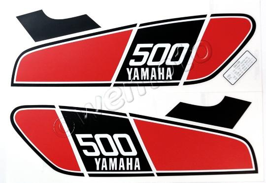 Picture of Decals Tank Yamaha XT500 1976