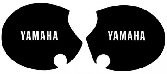 Decals Side Panels Yamaha XT500 80-