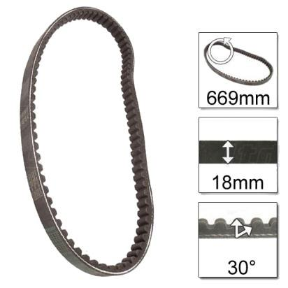 Picture of Yiben Scout 50 YB50QT-3 08 Drive Belt