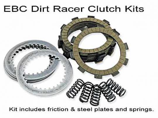 EBC Dirt Racer Clutch Kit includes Steel Plates DRC029
