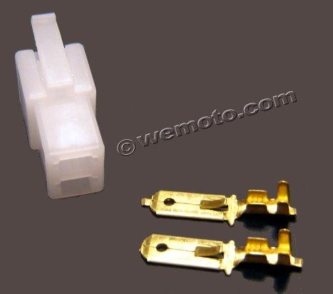 Picture of Electrical Connector Block - Male 2 Terminals