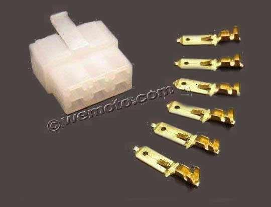Picture of Electrical Connector Block - Male 6 Terminals