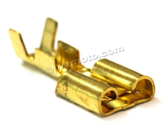 Picture of Electrical Connector Spade - 6.00mm Female Solder