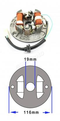 Picture of Generator - Stator Plate