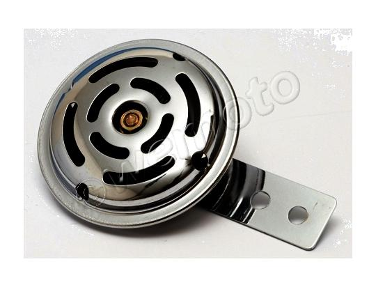 Picture of Horn 6 Volt Chrome - 74 mm Diameter - Custom Style AC