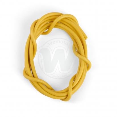 Picture of Electrical Cable Single - 6 Amp - Yellow 1 Meter