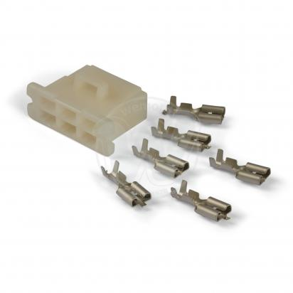 Picture of Electrical Connector  Block - Female 6 Terminals