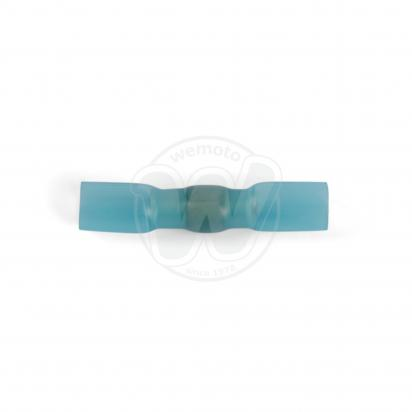 Picture of Sealey Heat Shrink Butt Connector with Crimp & Solder Blue Pack of 25