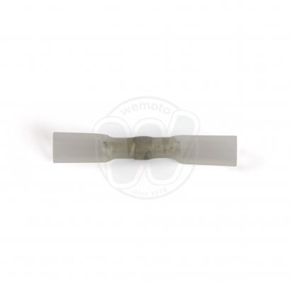 Picture of Sealey Heat Shrink Butt Connector with Crimp & Solder Clear Pack of 25
