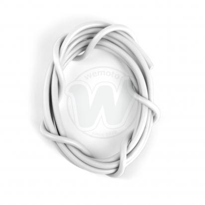 Picture of Electrical Cable Single - 6 Amp  - White 1 Meter