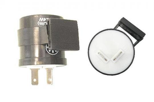 Picture of Flasher Relay 6V - 12V 21w x 2 + 3.4w Integral Buzzer 2 Pin Round