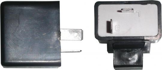 Picture of Flasher Relay 12V 10W, 2 Pin Rectangle Style