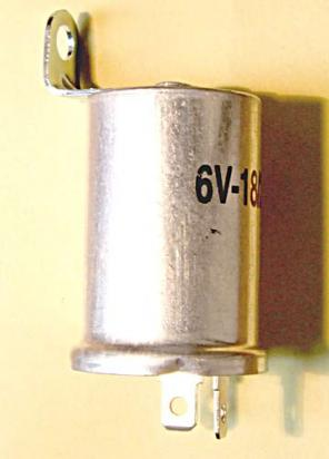 Picture of Flasher Relay 6V 2 Pin Far East use with bulbs up to 23 watt