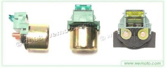 Picture of Yamaha YBR 125 ED (3D91) 05-06 Starter Solenoid / Relay