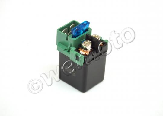 Picture of Starter Relay - Honda/Kawasaki For 1996 onwards - Fuse In Middle / 15 Amp