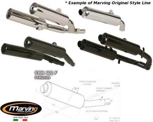 Picture of Marving Honda CBR 600 F 91/98 - Original Style - Black