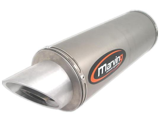 Picture of Marving Honda CB 600 F Hornet 07-09 Silencer - SLASH Line - Aluminium
