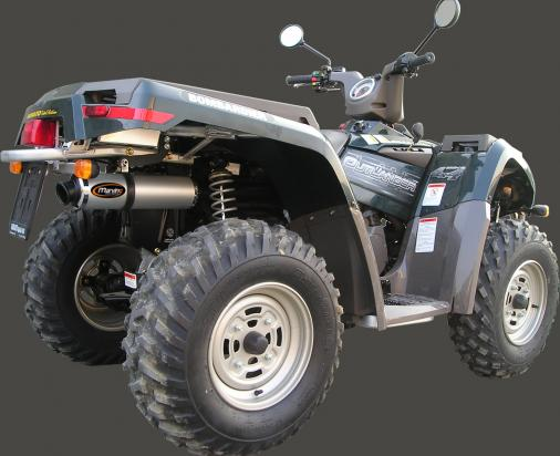 Marving Quad/ATV Oval Silencer