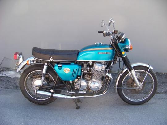 Picture of Marving Honda CB 750K Complete Exhaust - RACING Line 4/1 - Chrome