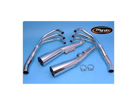 Picture of Marving Honda CBX 1000 Complete Exhaust - MASTER Line 6/2 - Chrome