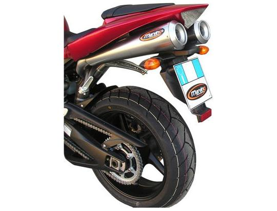 Picture of Marving Yamaha YZF 1000 R1 04-06 Silencers - RACING STEEL - Stainless Steel
