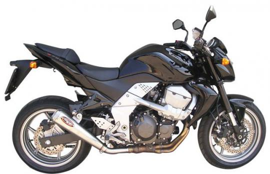 Picture of Marving Honda CB 600 F Hornet 07-09 Silencer - RACING STEEL STYLE - Stainless Steel