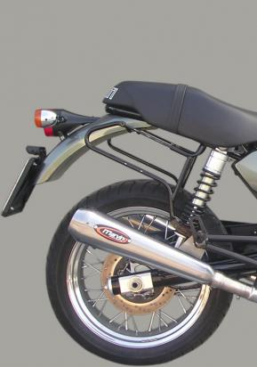 Picture of Marving Ducati GT 1000 Silencers - RACING STEEL Style - Stainless Steel