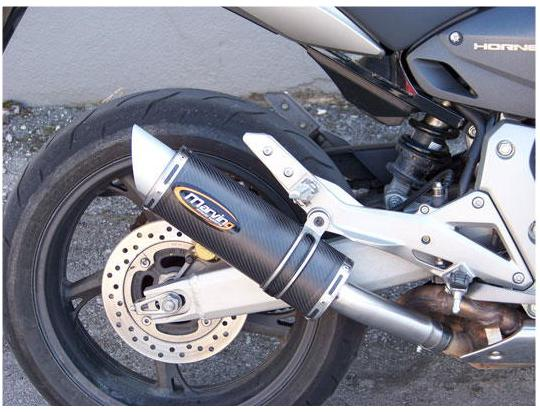 Picture of Marving Honda CB 600 F Hornet 07-09 Silencer - SLASH Line - Carbon Fibre